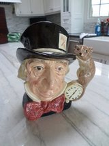 "Mad Hatter Toby Mug Jug - Doulton 1970 - 8"" Tall in Oswego, Illinois"