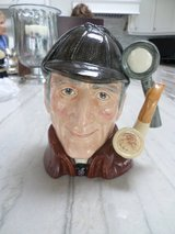 "Sherlock Holmes ""The Sleuth"" Toby Jug - Royal Doulton in Glendale Heights, Illinois"