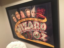 The Wizard of Oz Framed Movie Poster in Bolingbrook, Illinois