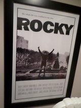 Rocky Framed Movie Poster in Bolingbrook, Illinois