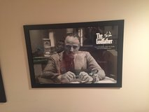 The Godfather Framed Movie Poster in Bolingbrook, Illinois