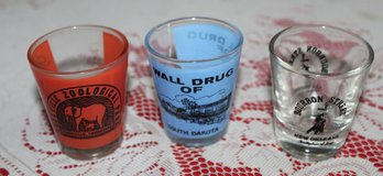 Shot glasses in Hopkinsville, Kentucky