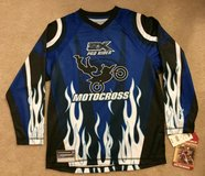 NWT! Zero Exposure Motorcross Racing Jersey Boys L 14-16 in Tinley Park, Illinois