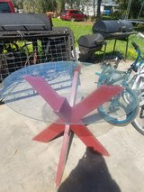 Patio glass table in Pasadena, Texas