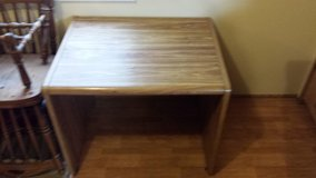 Wood desk / table in Fort Riley, Kansas