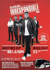 """4 Tickets Left!!! Kevin Hart Irresponsible Tour """"Shuttle Bus"""" in Ramstein, Germany"""