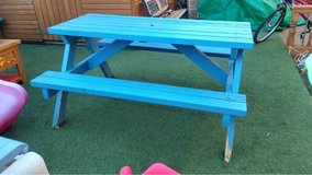 large picnic bench 150cm by 121cm by 78cm in Lakenheath, UK