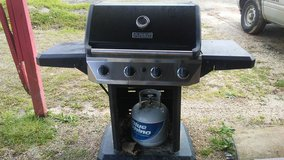 Gas Grill with Tank in Fort Polk, Louisiana