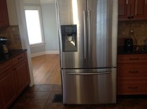 Samsung 25 cu/ft refridgerator (model # RF263BEAESR/AA) in MacDill AFB, FL