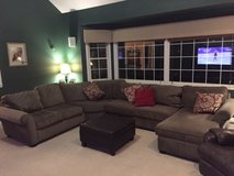 Full sectional sofa/couch w/lounger for sale in Bolingbrook, Illinois