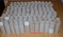CARDBOARD TUBES  X 150 in Lakenheath, UK
