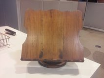 Wooden Book Easel Stand Holder Antique Vintage Read Bible Dictionary Table Desk in Lockport, Illinois