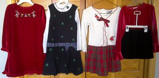 Girls Size 6 Dresses - Winter - 4 Outfits / 6 Pieces in Lockport, Illinois