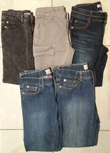 Girls Size 12 Jeans - 5 Pairs in Lockport, Illinois