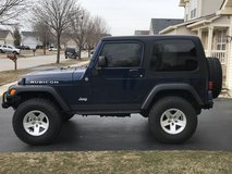2004 Jeep Wrangler Rubicon only 60k miles, winch, 3 tops! in Lockport, Illinois