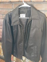 MENS DOCKERS FAUX LEATHER JACKET in 29 Palms, California