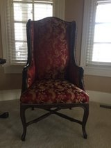 2 Red Wingback chairs in Tinley Park, Illinois