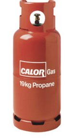 19kg propane bottle full unused in Lakenheath, UK