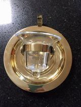 Partylite, Brass -  Ships Bell Wall Sconce or Table Top Votive Candle Holder in Naperville, Illinois