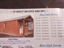 Amish built log cabin and gazebos in Hopkinsville, Kentucky