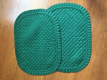 Set of 2 green placemats in Plainfield, Illinois