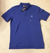 NEW! Mens CHAPS Ralph Lauren Blue Performance Golf Polo Shirt Size M in Tinley Park, Illinois