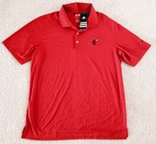 NEW! NBA BULLS Adidas Puremotion Performance Golf Polo T-Shirt Collection Men's L in Tinley Park, Illinois