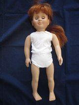 "BATTAT Doll 18"" Red Hair Blue Sleepy Eyes ~ EXCELLENT in Glendale Heights, Illinois"