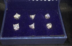 6mm 3piece Earring Set in Tinley Park, Illinois