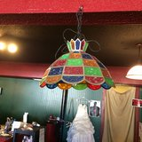 Vintage Hanging Light in Fort Polk, Louisiana