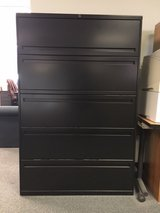 5-drawer lateral file cabinets by ALLSTEEL Office Furniture (3 available) in West Orange, New Jersey