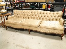 French Provincial Upholstered Sofa by Stratford in Pasadena, Texas