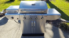 Char-Broil TRU-Infrared 4 Burner, 36,000 BTUs Gas Grill With Side Burner in Leesville, Louisiana