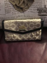 Coach Billfold Checkbook Wallet in Naperville, Illinois