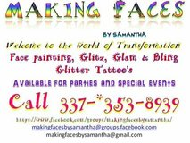 Face Painting, Glitter Tattoo's, Glitz, Glam & Bling in Fort Polk, Louisiana