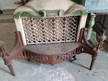 Antique Victoria Gas heater in Kingwood, Texas