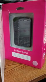 Alactel Sparq II 875 3G Cell Phone w/ QWERTY Keyboard (T-Mobile) - Black in Glendale Heights, Illinois