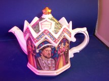 james sadler teapot henry viii kings and queens tea pot made in england in Alamogordo, New Mexico