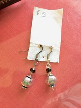 Silver dangling earrings in St. Charles, Illinois