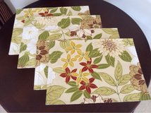 Floral Fabric Placemats in Oswego, Illinois