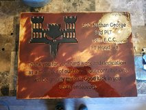 CNC carved plaques and art work in Fort Leonard Wood, Missouri