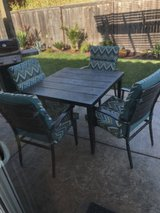 Metal Patio Set with Cushions in Travis AFB, California