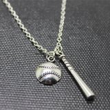 ***** BASEBALL & BAT NECKLACE  ***** NEW in Tacoma, Washington