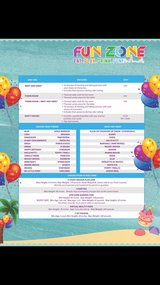 FUNZONE BIRTHDAY PARTY PACKAGES in Tinley Park, Illinois