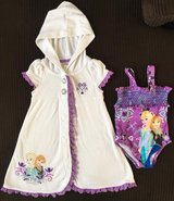 2T Frozen swimsuit with cover up in Elgin, Illinois