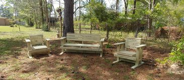 Wooden Swing-Glider Chair Pressure Treated in Cleveland, Texas