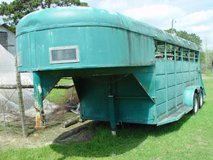 30ft Goose neck cattle or horse trailer. in Leesville, Louisiana
