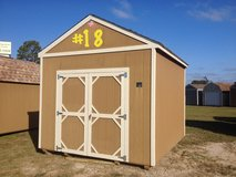 10x12 Lofted Utility Storage Building Shed!! in Moody AFB, Georgia