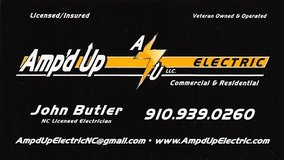 Amp'd Up Electric, LLC in Camp Lejeune, North Carolina
