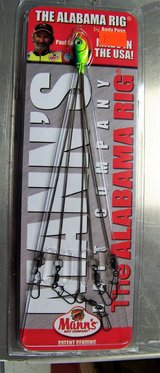 The Alabama Rig by Mann's Bait Company in Leesville, Louisiana